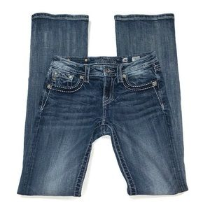 Miss Me bootcut cross pocket jeans - sz 16